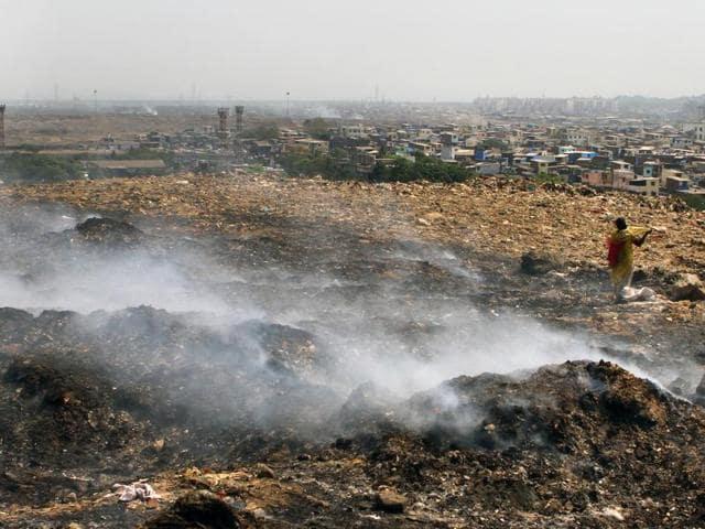 Deonar Dumpyard,Deonar dumping ground,Deonar Fire