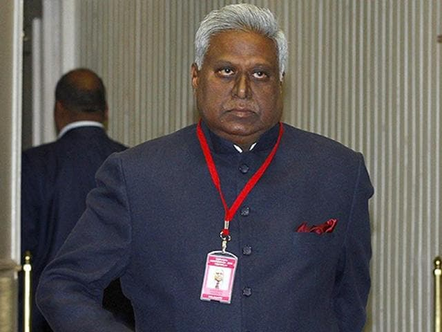 An application accusing former CBI director Ranjit Sinha of demanding money from a person facing charges of illegal export of iron ore was filed before the Supreme Court.