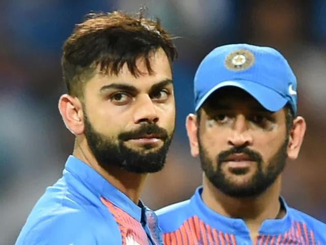 Virat Kohli during the World T20 semi-final against West Indies in Mumbai.