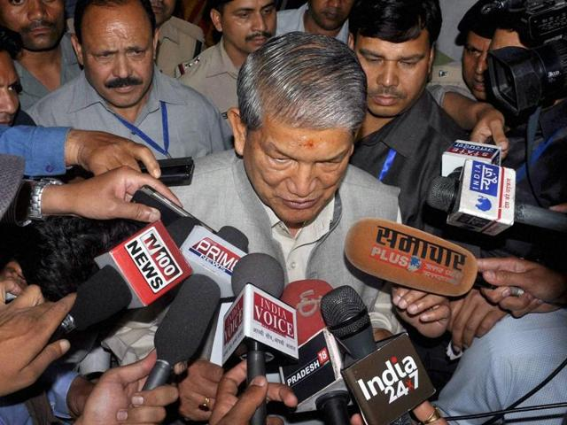 The Uttarakhand high court will hear a petition of the Congress challenging the imposition of President's rule in the state. Former chief minister Harish Rawat also challenged an ordinance on state finances.