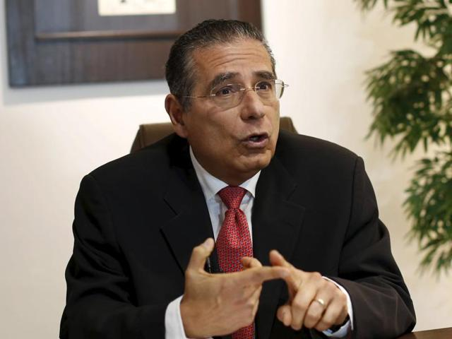Ramon Fonseca, founding partner of law firm Mossack Fonseca, during an interview at his office in Panama City.