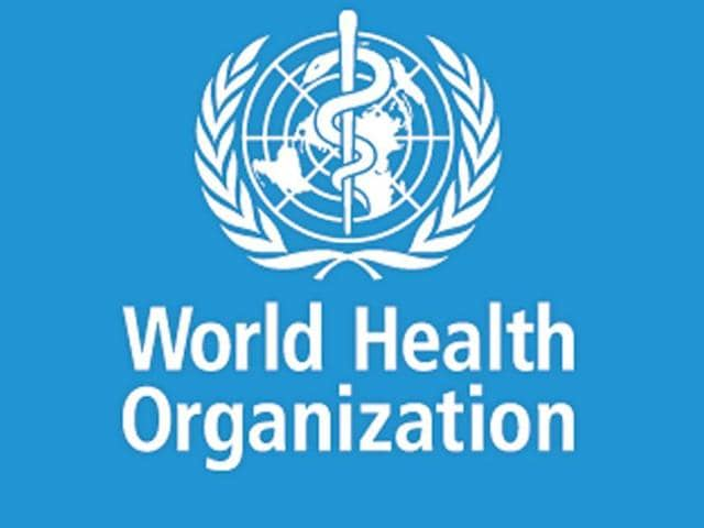 Logo of World Health Organisation. Consultants, drawing salaries from foreign agencies like WHO but working Indian government for over three years, will have to quit by December 2016 under a new order.