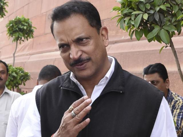 "Union minister for skills development and entrepreneurship Rajiv Pratap Rudy asserted that his ""English education"" gave him an advantage over his cabinet colleagues."