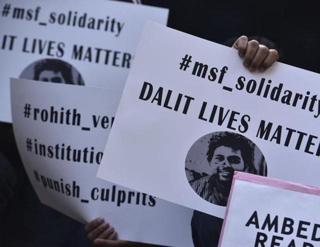 Dalit student of DU