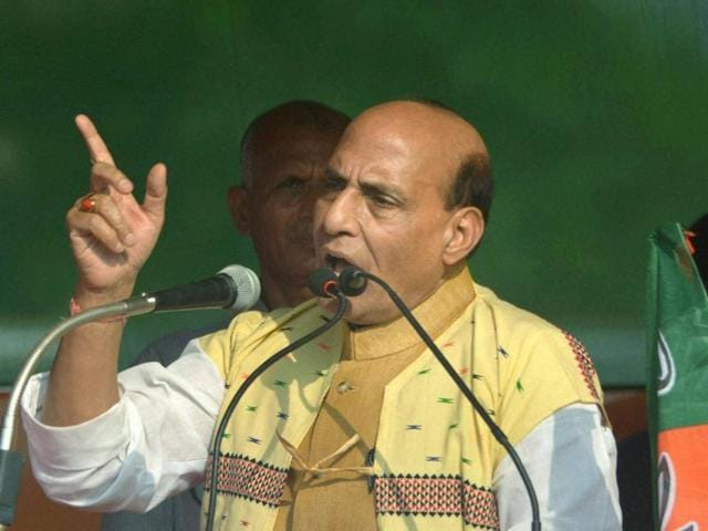 Union Home Minister Rajnath Singh on Wednesday alleged that the Trinamool Congress (TMC) failed to fulfil the aspirations of the people of West Bengal.