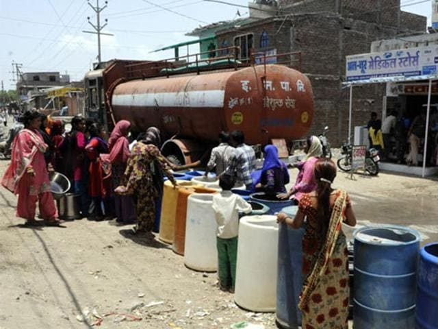 India's agricultural policies need tinkering as well. India's water tables are dropping by 0.3 metres annually(REUTERS)