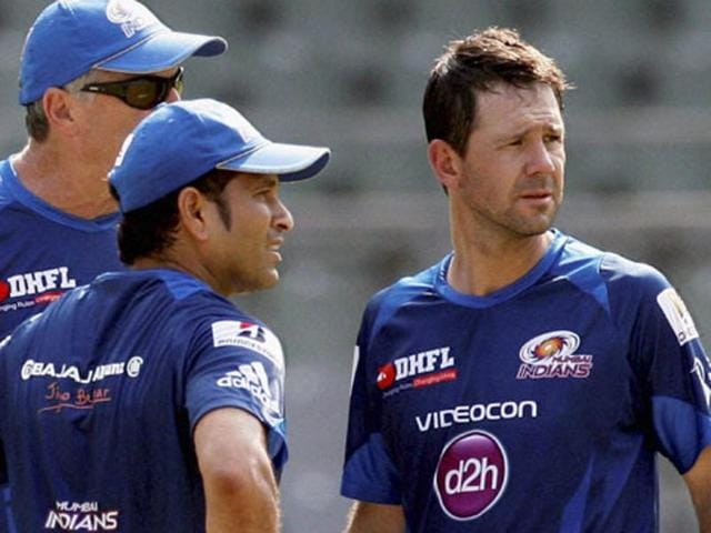 A file photo of Mumbai Indians' coach Ricky Ponting.