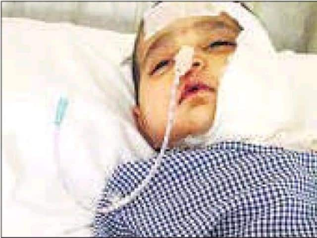 Bombay Hospital is inquiring into an incident in its paediatric department, where a six-month-old suffered burns on her cheek and shoulder last week while was being administered steam to open up her lungs