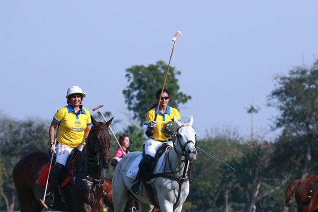 According to the Guinness Book of World Records, the traditional Manipuri game, Sago Kangjei, is the mother of modern day polo.
