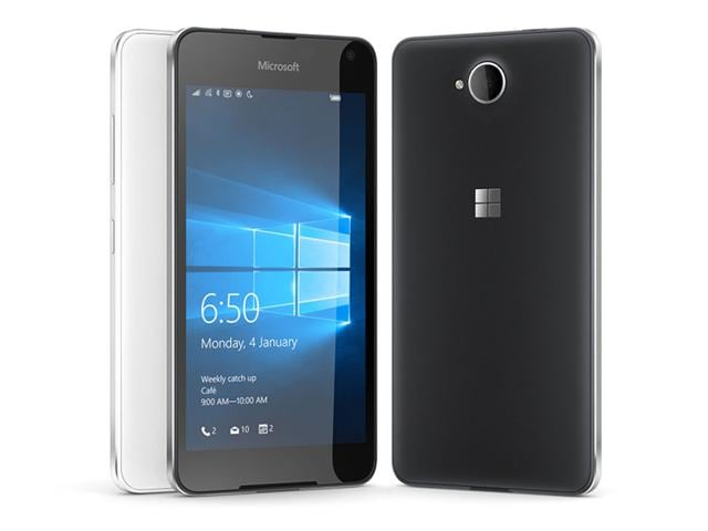 Lumia 650 will be available in matte black and matte white colours and is available at a best buy price of Rs 15,299