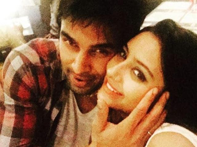 A file picture of Pratyusha Banerjee and Rahul Raj Singh.