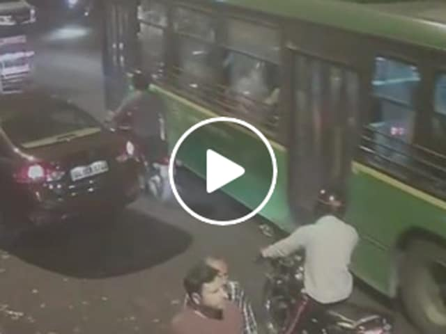 Mercedes,hit and run,CCTV footage