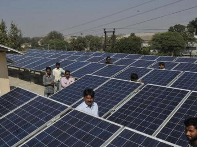 As many as 136 residents have applied for setting up solar power plants at the rooftops of their houses.