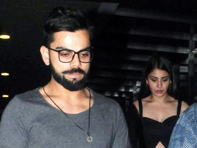 Virat-Anushka's dinner date has sparked off rumours that the two are back together, after they broke up earlier this year.  They were spotted on Wednesday.