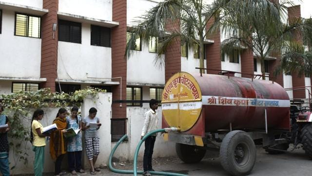 With the drinking water crisis set to worsen over the next two months, the district collector last month asked the authorities to consider closure of hostels. Students are worried this will effect their performance in the state Common Entrance Test.