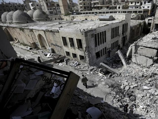 (Representative image) Around 250 Syrian civilians are feared kidnapped after an attack by the Islamic State on a cement factory, residents said.(Reuters Photo)