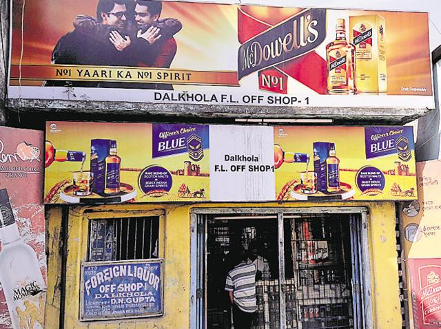 Dalkhola is major a transit point and a truckers' stop. But that is now in the past. It is all set to see a huge influx of cash and new customers, driven by the booze ban in Bihar.