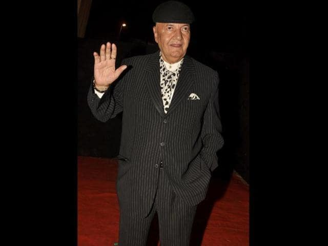 Prem Chopra  will soon be seen in Udanchoo. (HT Photo)