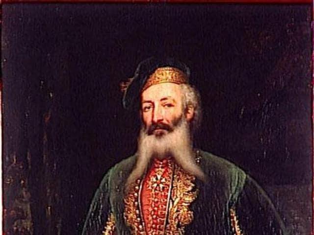 Maharaja Ranjit Singh,Sikh emperor,Jean Francois Allard