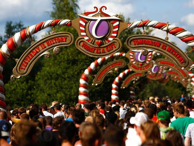 You can get VIP access and a private jet to Tomorrowland in Belgium, one of the world's largest electronic music festivals.