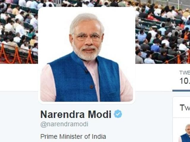 Repeated exhortations by Prime Minister Narendra Modi to use social media to showcase the government's achievements have not had much impact on them.