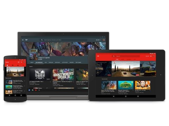 With an interface similar to YouTube, the website and app are meant for gamers to watch others play