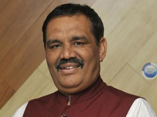 Minister of state for Ministry of Social Justice and Empowerment,Vijay Sampla,MoS