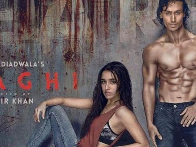 Shraddha, Tiger on Baaghi poster. (Twitter)