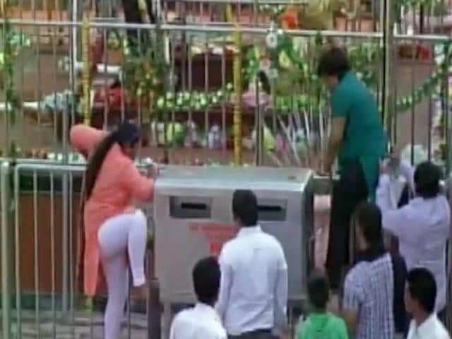 The Shani shrine has been at the centre of the raging debate for gender equality after dozens of women activists attempted to storm the temple for the first time on Republic Day this year.