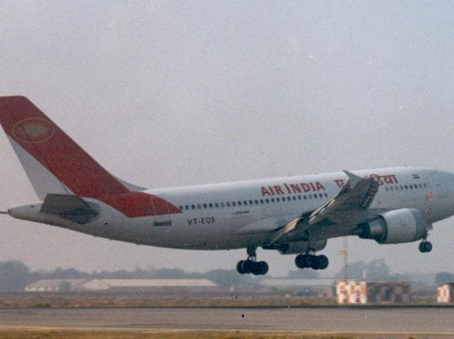 Air India officials denied any such incident and said they didn't receive any complaint from the passengers.