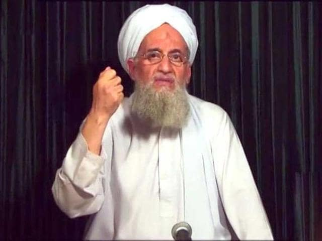 File photo of al Qaeda leader Ayman al Zawahiri.