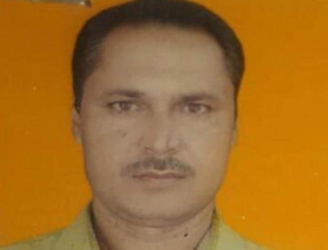 Head constable Basant Kumar Verma who died while trying to save an 11-year-old boy.