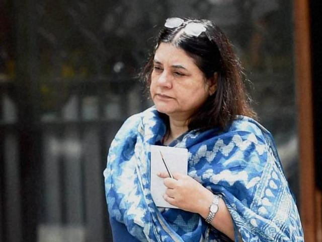 """Maneka Gandhi had earlier described marital rape as """"violence against women"""" and maintained that """"it should be treated with seriousness""""."""