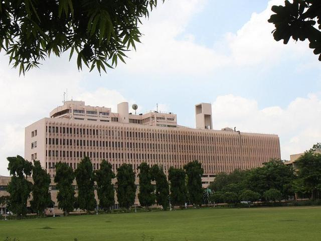 A file photo of Indian Institute of Technology campus in Delhi.(Arvind Yadav/HT photo)