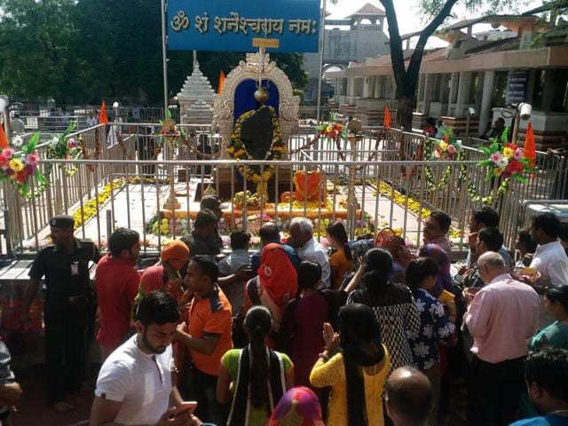 The ancient Shani temple, located 30km from Nashik, is a major Lord Shiva shrine of the country, which has one of the 12 'jyotirlingas', drawing devotees from far and wide. A 60-year old tradition dictated that women not be allowed into the inner sanctum of the temple.