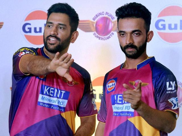 MS Dhoni , playing for a new franchise Rising Pune Supergiants, is known for not carrying his phone with him.