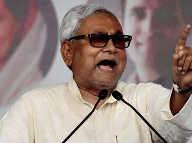 Bihar chief minister Nitish Kumar said the BJP-led NDA government at the Centre should issue a statement on the incident as it shares power with the PDP in Jammu and Kashmir.