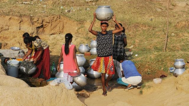 Water crisis,students,drought