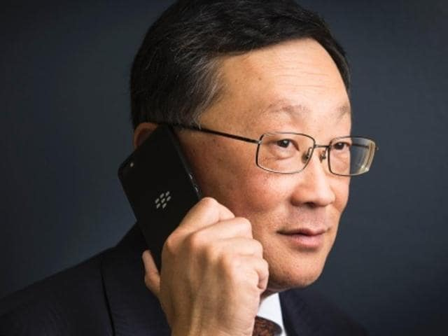 In an interview with The National website, John Chen said that one of the smartphones will have a full touchscreen form factor while the other will come with a physical Qwerty keyboard
