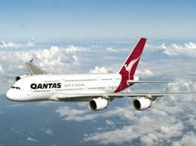 A passenger has died aboard a Qantas jet bound for Dubai, the airline said Saturday, with the man reportedly suffering from a heart attack mid-air.
