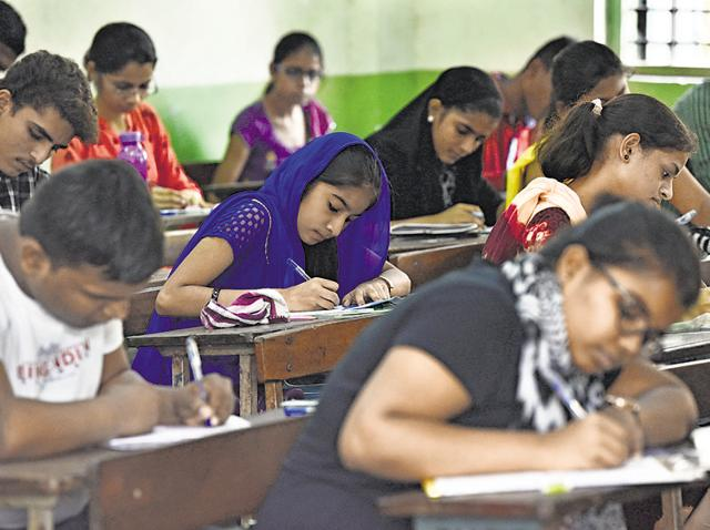 Fearing failure, a number of students taking the UP board examination have left requests, money and threats on their answer scripts for evaluators.