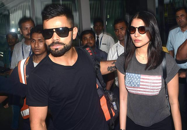 Breaking all rules: Here, at last, was a man (Virat Kohli) who didn't rubbish his ex (Anushka Sharma) the moment she was out of his life. (Photo by Subhendu Ghosh / HIndustan Times)