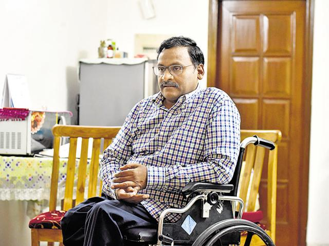 Delhi University professor GN Saibaba, who is 90% disabled, was granted bail by the Supreme Court on Monday.