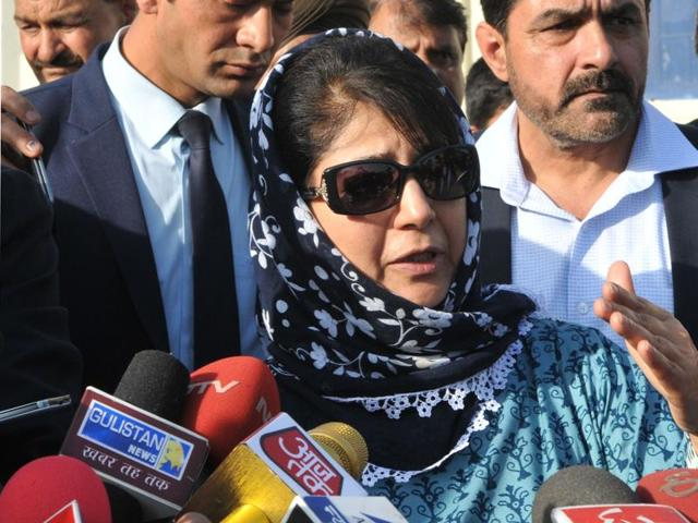 """Jamma and Kashmir's new chief minister, Mehbooba Mufti, has repeatedly called the NIT row a """"non-issue."""""""
