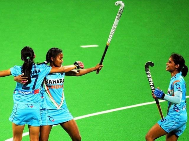 The Indian women beat Canada 1-0 to register their first win of the Hawke's Bay Cup.
