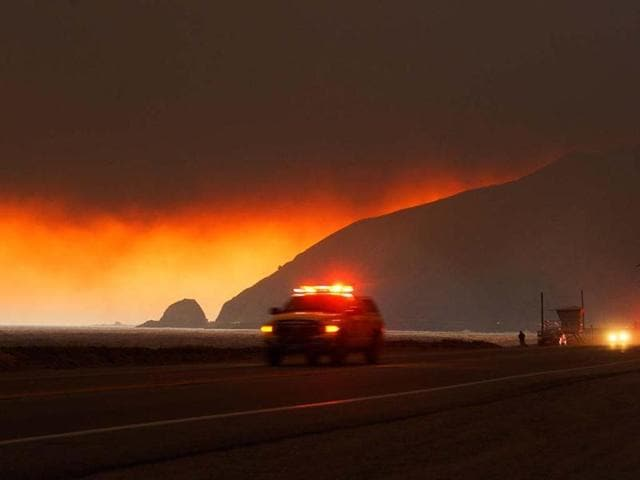 (Representative image)A man who took a video of himself surrounded by flames that erupted into one of the worst California wildfires of 2014 was fined $60 million and sentenced to 20 years in prison .
