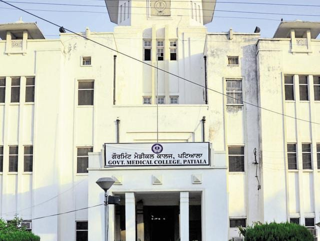 The Government Medical College in Patiala.