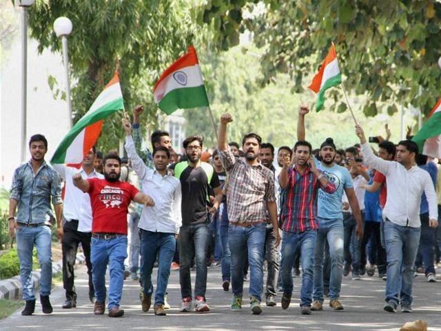 NIT Srinagar,Hyderabad University,Centre