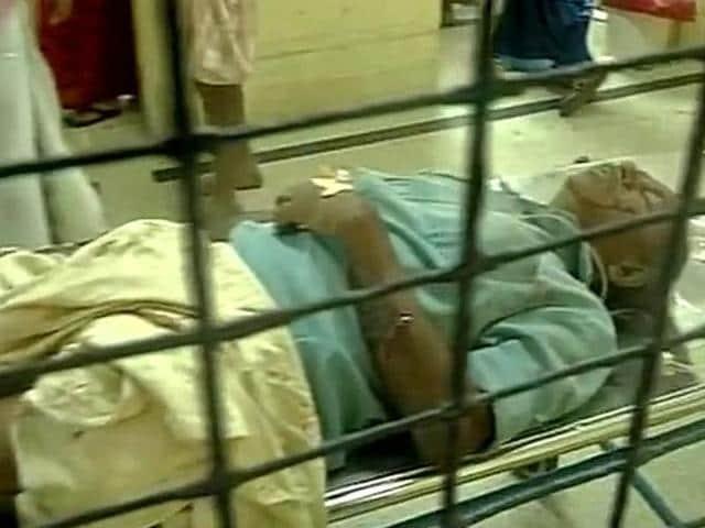 Injured people being rushed to Thiruvananthapuram Medical College