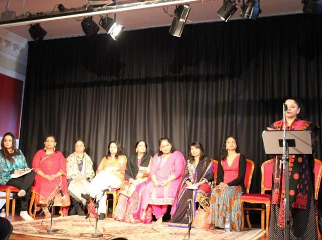 Eight leading Indian women artistes narrated the struggles and support from families on their journey to fame at a 'Women in Music' symposium at the Nehru Centre, London, on Thursday.
